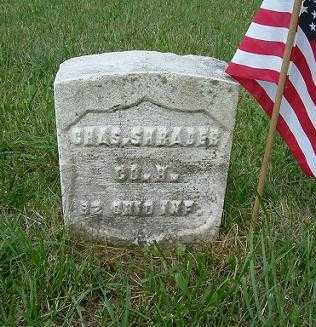 SHRADER, CHARLES - Hocking County, Ohio | CHARLES SHRADER - Ohio Gravestone Photos