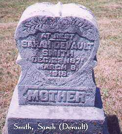 SMITH, SARAH - Hocking County, Ohio | SARAH SMITH - Ohio Gravestone Photos