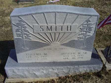 SMITH, JOSEPH M. SR. - Hocking County, Ohio | JOSEPH M. SR. SMITH - Ohio Gravestone Photos