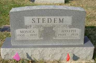 STEDEM, JOSEPH - Hocking County, Ohio | JOSEPH STEDEM - Ohio Gravestone Photos