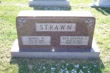 STRAWN, REV. GROVER C. - Hocking County, Ohio | REV. GROVER C. STRAWN - Ohio Gravestone Photos