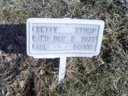STUMP, BETTY - Hocking County, Ohio | BETTY STUMP - Ohio Gravestone Photos