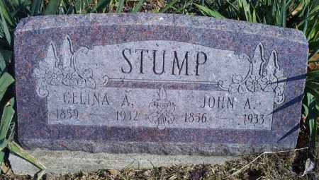 STUMP, CELINA A. - Hocking County, Ohio | CELINA A. STUMP - Ohio Gravestone Photos
