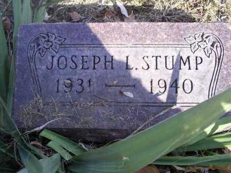 STUMP, JOSEPH L. - Hocking County, Ohio | JOSEPH L. STUMP - Ohio Gravestone Photos