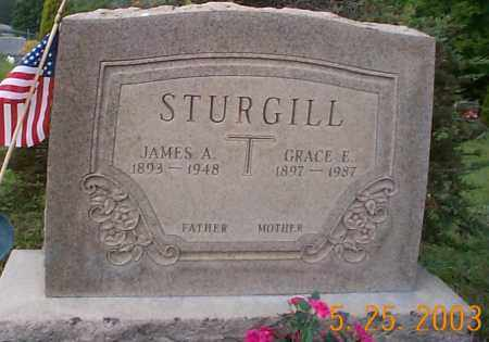TODD STURGILL, GRACE E. - Hocking County, Ohio | GRACE E. TODD STURGILL - Ohio Gravestone Photos