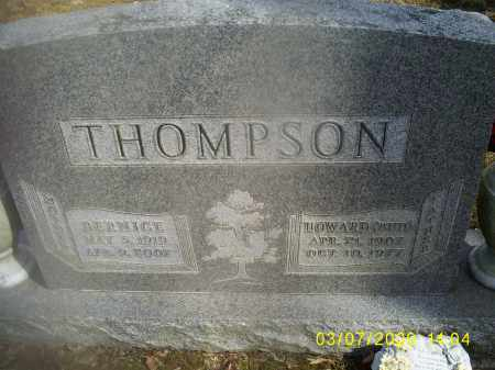 THOMPSON, BERNICE - Hocking County, Ohio | BERNICE THOMPSON - Ohio Gravestone Photos