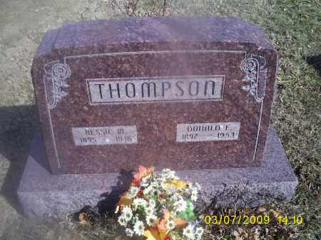 THOMPSON, BESSIE M. - Hocking County, Ohio | BESSIE M. THOMPSON - Ohio Gravestone Photos