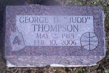"THOMPSON, GEORGE D. ""JUDD"" - Hocking County, Ohio 