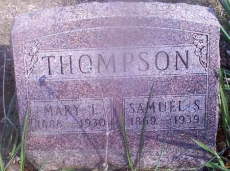 THOMPSON, MARY L. - Hocking County, Ohio | MARY L. THOMPSON - Ohio Gravestone Photos