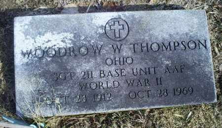 THOMPSON, WOODROW W. - Hocking County, Ohio | WOODROW W. THOMPSON - Ohio Gravestone Photos