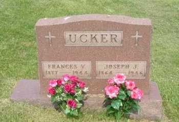 UCKER, FRANCES V. - Hocking County, Ohio | FRANCES V. UCKER - Ohio Gravestone Photos