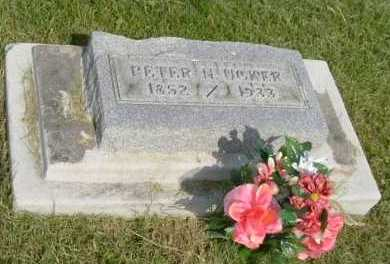 UCKER, PETER N. - Hocking County, Ohio | PETER N. UCKER - Ohio Gravestone Photos