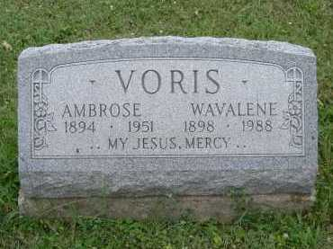 VORIS, WAVALENE - Hocking County, Ohio | WAVALENE VORIS - Ohio Gravestone Photos