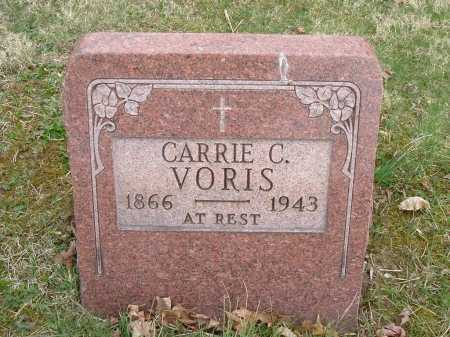 "VORIS, CAROLINE ""CARRIE"" - Hocking County, Ohio 