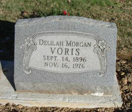 MORGAN VORIS, DELILAH ETHEL - Hocking County, Ohio | DELILAH ETHEL MORGAN VORIS - Ohio Gravestone Photos