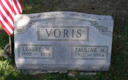 VORIS, LEVERT W. - Hocking County, Ohio | LEVERT W. VORIS - Ohio Gravestone Photos