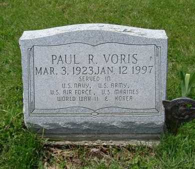 VORIS, PAUL RALPH - Hocking County, Ohio | PAUL RALPH VORIS - Ohio Gravestone Photos