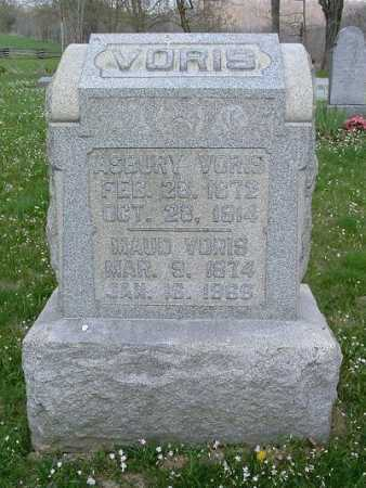 BEOUGHER VORIS, MAUDE J. - Hocking County, Ohio | MAUDE J. BEOUGHER VORIS - Ohio Gravestone Photos