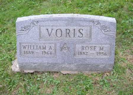 VORIS, WILLIAM A. - Hocking County, Ohio | WILLIAM A. VORIS - Ohio Gravestone Photos