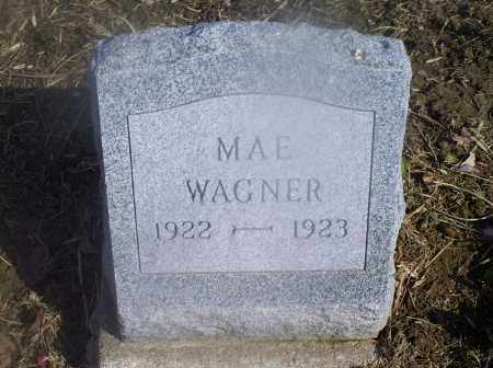 WAGNER, MAE - Hocking County, Ohio | MAE WAGNER - Ohio Gravestone Photos