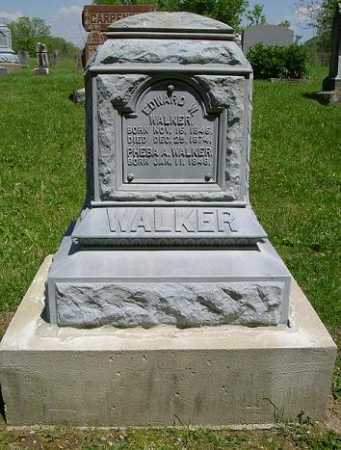 WALKER, EDWARD W. - Hocking County, Ohio | EDWARD W. WALKER - Ohio Gravestone Photos