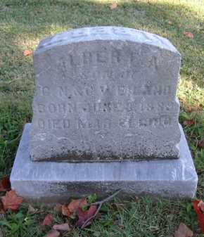 WEILAND, ALBERT A. - Hocking County, Ohio | ALBERT A. WEILAND - Ohio Gravestone Photos