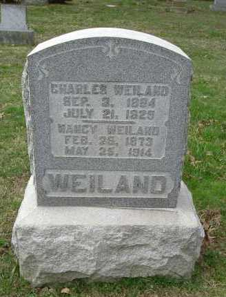 WEILAND, NANCY - Hocking County, Ohio | NANCY WEILAND - Ohio Gravestone Photos