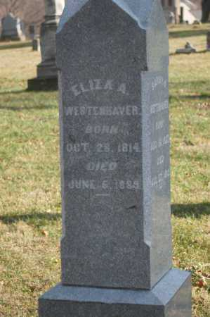 WESTENHAVER, ELIZA A - Hocking County, Ohio | ELIZA A WESTENHAVER - Ohio Gravestone Photos