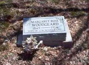 ROSE WOODGEARD, MARGARET - Hocking County, Ohio | MARGARET ROSE WOODGEARD - Ohio Gravestone Photos