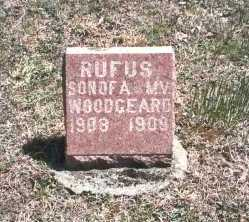 WOODGEARD, RUFUS - Hocking County, Ohio | RUFUS WOODGEARD - Ohio Gravestone Photos