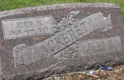 ACKERET, SYLVIA M. - Holmes County, Ohio | SYLVIA M. ACKERET - Ohio Gravestone Photos