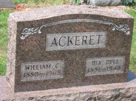 ACKERET, IDA DELL - Holmes County, Ohio | IDA DELL ACKERET - Ohio Gravestone Photos