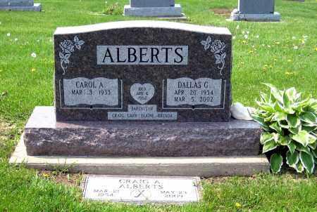 ALBERTS, DALLAS G. - Holmes County, Ohio | DALLAS G. ALBERTS - Ohio Gravestone Photos