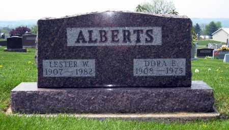 ALBERTS, DORA E. - Holmes County, Ohio | DORA E. ALBERTS - Ohio Gravestone Photos