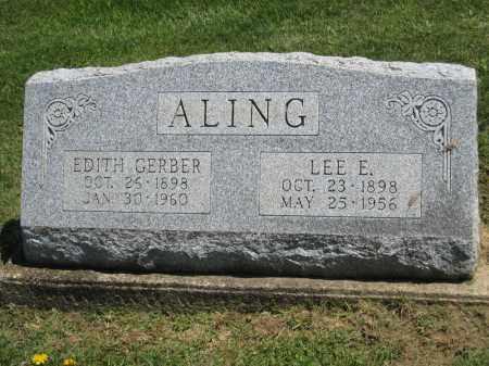 ALING, EDITH - Holmes County, Ohio | EDITH ALING - Ohio Gravestone Photos