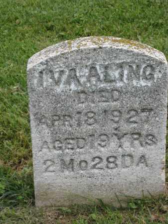 ALING, IVA - Holmes County, Ohio | IVA ALING - Ohio Gravestone Photos