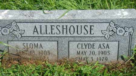 ALLESHOUSE, CLYDE - Holmes County, Ohio | CLYDE ALLESHOUSE - Ohio Gravestone Photos