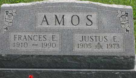 AMOS, FRANCES E. - Holmes County, Ohio | FRANCES E. AMOS - Ohio Gravestone Photos