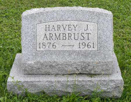 ARMBRUST, HARVEY J. - Holmes County, Ohio | HARVEY J. ARMBRUST - Ohio Gravestone Photos