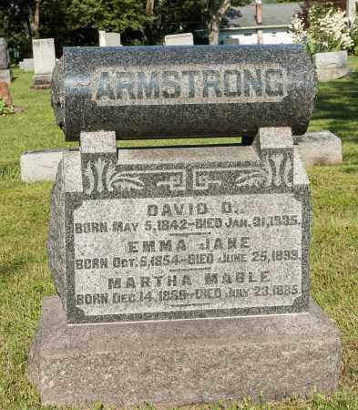 BROWN ARMSTRONG, EMMA JANE - Holmes County, Ohio | EMMA JANE BROWN ARMSTRONG - Ohio Gravestone Photos