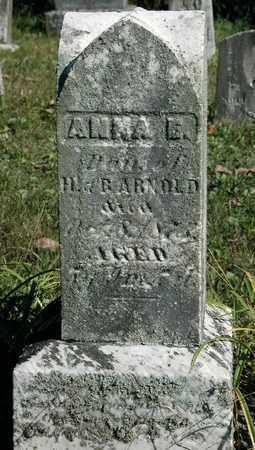 ARNOLD, ANNA E. - Holmes County, Ohio | ANNA E. ARNOLD - Ohio Gravestone Photos