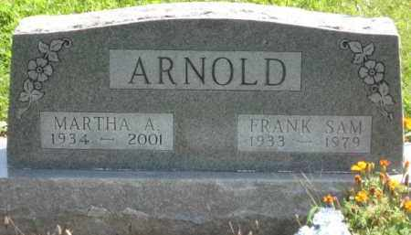 ARNOLD, MARTHA A. - Holmes County, Ohio | MARTHA A. ARNOLD - Ohio Gravestone Photos