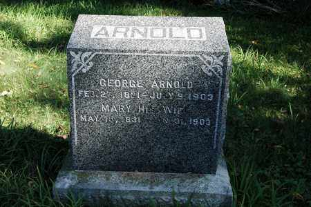 ARNOLD, GEORGE - Holmes County, Ohio | GEORGE ARNOLD - Ohio Gravestone Photos