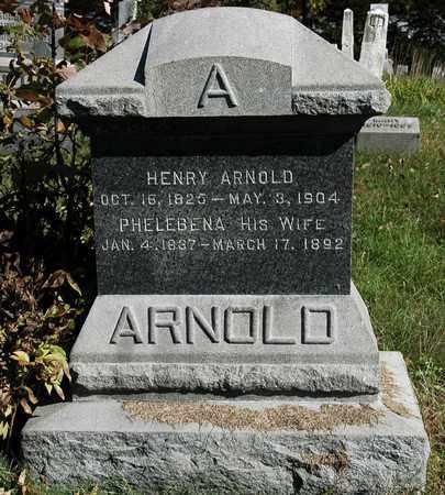 ARNOLD, HENRY - Holmes County, Ohio | HENRY ARNOLD - Ohio Gravestone Photos