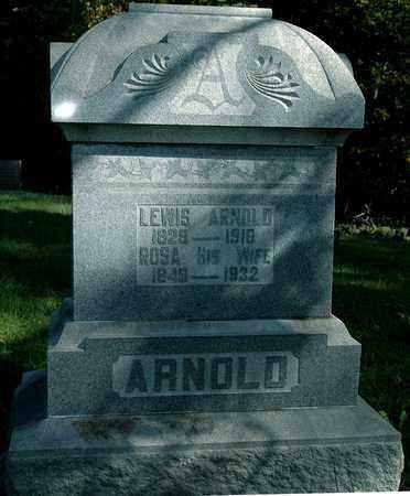 ARNOLD, LEWIS - Holmes County, Ohio | LEWIS ARNOLD - Ohio Gravestone Photos