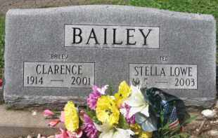 BAILEY, CLARENCE - Holmes County, Ohio | CLARENCE BAILEY - Ohio Gravestone Photos