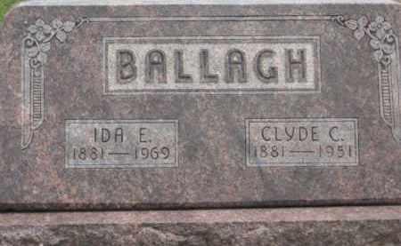 BALLAGH, CLYDE C. - Holmes County, Ohio | CLYDE C. BALLAGH - Ohio Gravestone Photos