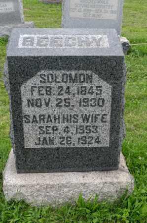 LENHART BEECHY, SARAH - Holmes County, Ohio | SARAH LENHART BEECHY - Ohio Gravestone Photos