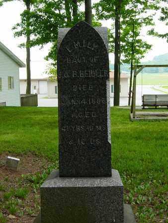 BEIDLER, EMILY - Holmes County, Ohio | EMILY BEIDLER - Ohio Gravestone Photos