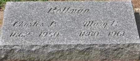 BELLMAN, MARY E. - Holmes County, Ohio | MARY E. BELLMAN - Ohio Gravestone Photos